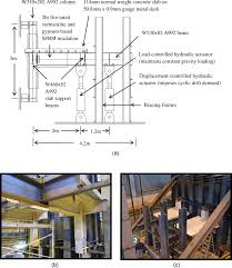 cyclic load tests of sfrm insulated steel gravity frame beam