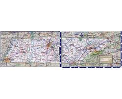Kentucky Tennessee Map by Maps Of Tennessee State Collection Of Detailed Maps Of Tennessee