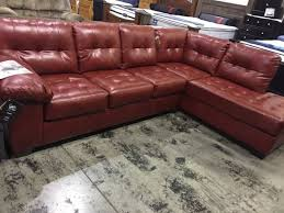sofas for sale charlotte nc new ashley furniture 2 piece leather sectional salsa red