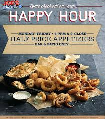 coupons for joe s crab shack pinned january 28th appetizers are 50 during happy hours