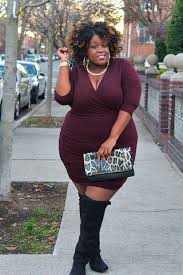 dresses with boots weekend look sweater dresses knee high boots curvy fashion