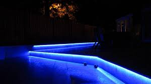 Led Patio Lights String by Colour Changing Led Installed For Patio Lighting Youtube