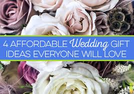 Affordable Wedding 4 Affordable Wedding Gifts Everyone Will Love Frugal Rules