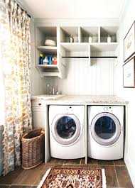 laundry room drying rack view in gallery hanging pole clothes