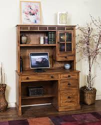 Oak Computer Desk With Hutch by Amazon Com Sunny Designs 2968ro H Sedona Hutch Rustic Oak