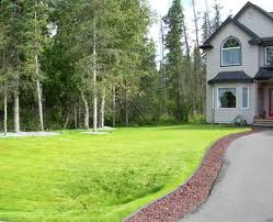 residential new construction landscaping lawn installation and