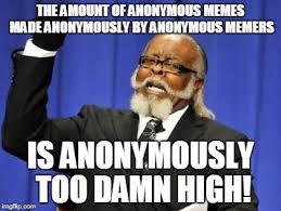 Anonymous Meme - anonymous meme week an anonymous event november 20th 27th