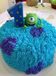 travis u0027s first birthday cake monsters inc cakes pinterest