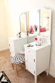 corner makeup vanity ideas you ll love this light and bright