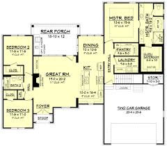 european style house plan 3 beds 2 baths 1884 sq ft plan 430