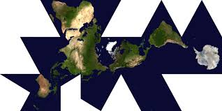 Most Accurate World Map by 7 Critique Of Fuller U0027s Dymaxion Map Compared To B J S Cahill U0027s