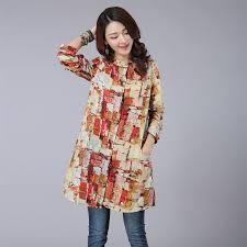 aliexpress com buy women shirts 2017 autumn linen women tops