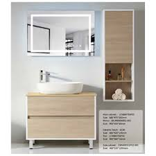 how high cabinet above sink ready made teak wood high gloss hotel luxury bath washroom bathroom mirror sink cabinet with mounting above basin buy ready madee uropean mdf