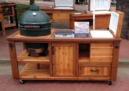 outdoor grill prep table outdoor grill prep station on wheel outdoor furniture enjoy