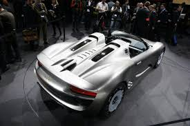 porsche supercar concept porsche 918 spyder concept autostrada
