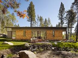 designing a small house exterior contemporary with pine trees pine