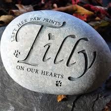 pet memorial stones best 25 pet memorial stones ideas on dog memorial
