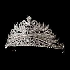 tiaras for sale antique silver princess tiara headpiece bridal hair