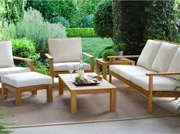 amazing brooks island wood patio furniture collection smith hawken