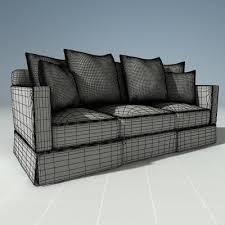 henredon corduroy couch