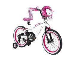 amazon com hello kitty u0027s bike white 18 inch hello kitty