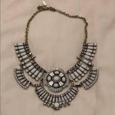 white necklace images Jewelmint jewelry white stone necklace poshmark jpg