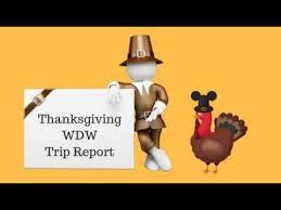 102 thanksgiving at walt disney world