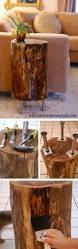 Tree Stump Nightstand 16 Inspiring Diy Tree Stump Projects For Rustic Home Decor