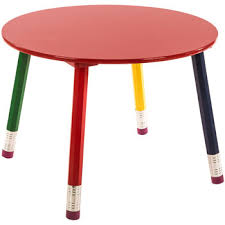 pencil leg table and chairs round child s pencil table hobby lobby 951087