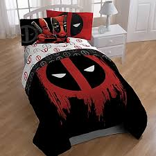 Marvel Double Duvet Cover Marvel Deadpool Bedroom Set Bed Bath U0026 Beyond