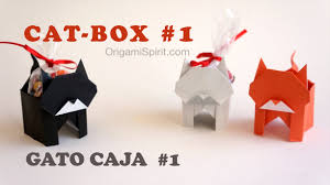halloween cat and candy box 1 gato caja youtube