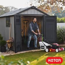 Keter Plastic Garden Shed Keter Factor 8 U0027 5