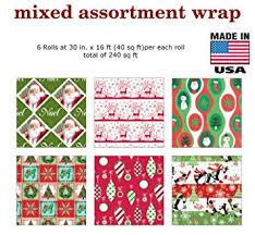 bulk christmas wrapping paper cheap traditional christmas wrapping find traditional christmas