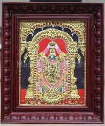 lord venkateswara photo frames with lights and music lord venkateswara balaji tanjore painting framed