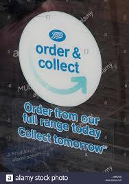 boots buy collect in store boots click and collect sign in store window company established