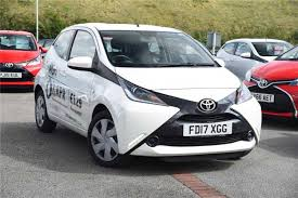 toyota aygo used 2017 toyota aygo 1 0 vvt i x play 5dr x touch for sale in