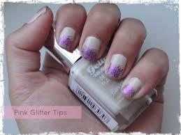 barry m u2013 pink glitter tip nail art beauty best friend uk