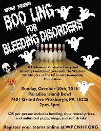 Bowling Halloween Costumes Boo Ling Bleeding Disorders Wpcnhf