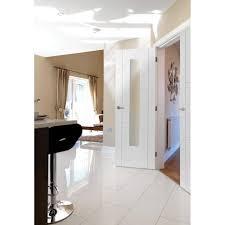 glass internal doors jb kind limelight mistral white primed clear glass internal door