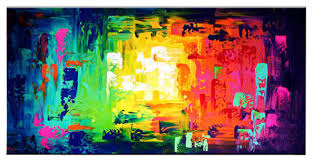 images of colorful abstract oil painting sc