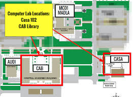 Computer Lab Floor Plan Computer Labs Student Resources Information Technology Services