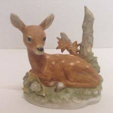 home interior deer picture homco home interior figurines deer ebay