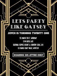 gatsby invitations the 25 best great gatsby invitation ideas on gatsby