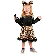 2t Toddler Halloween Costumes Amazon Toddler Cat Dress Costume Size Toddler 2t 4t Baby