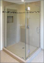 Corner Shower Glass Doors Frameless Glass Corner Showers Dulles Glass Mirror Dulles