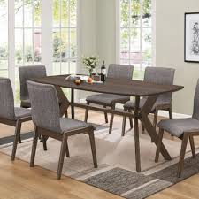 Retro Dining Room Furniture Coaster Mcbride Retro Dining Room Table Coaster Furniture