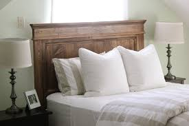 bedroom decorative ana white reclaimed wood headboard queen