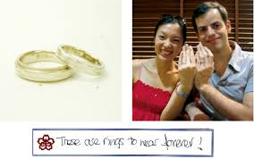 japanese wedding ring may 2010 mokumeganeya vip wedding band and wedding ring with