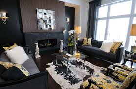 Patterned Armchair Design Ideas Living Room Dark Living Room Design Cheerful Elegance Touch Of