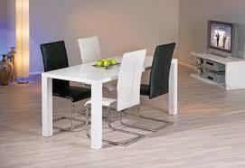 chaises de salle à manger design chaise de salle manger design coloris noir lot de 2 of soldes